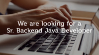 Sr. Backend Java Developer