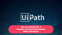 UiPath Developer